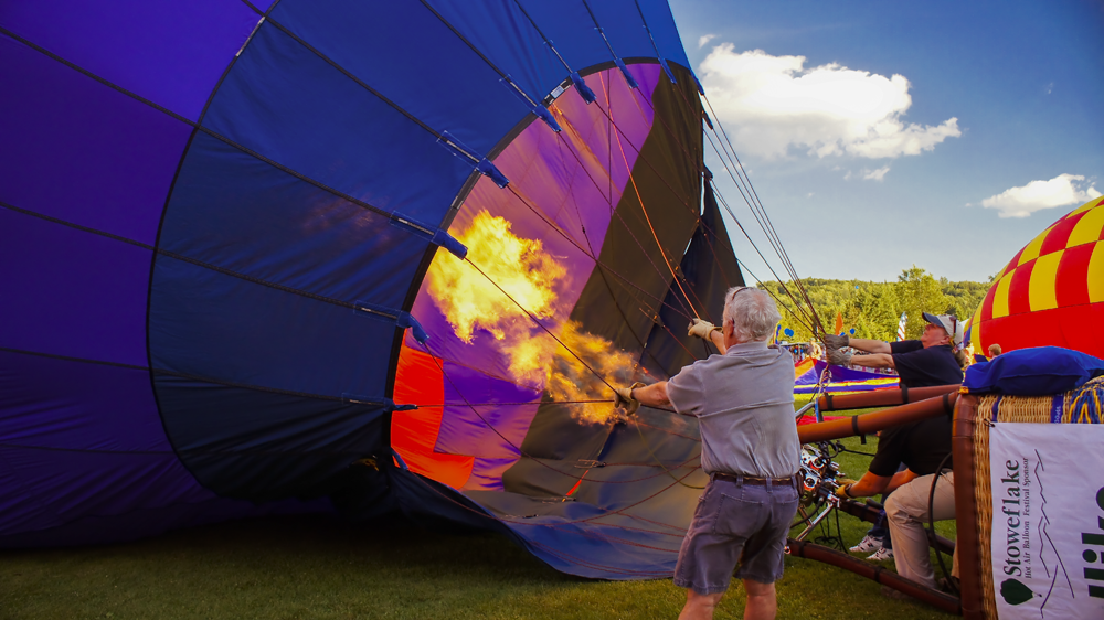 Stowe Hot air Balloon Festival